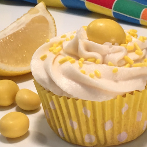 Lemon Zinger Cupcake
